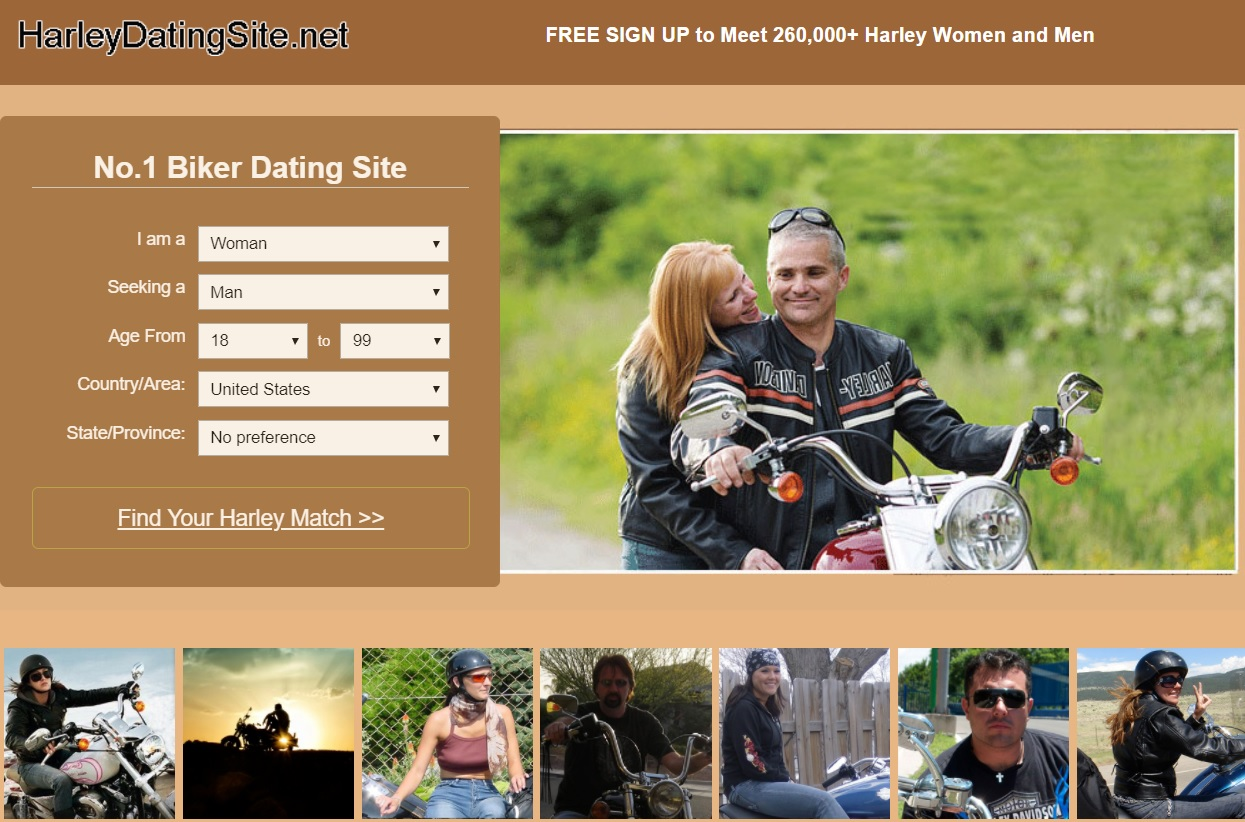 Online dating for bikers